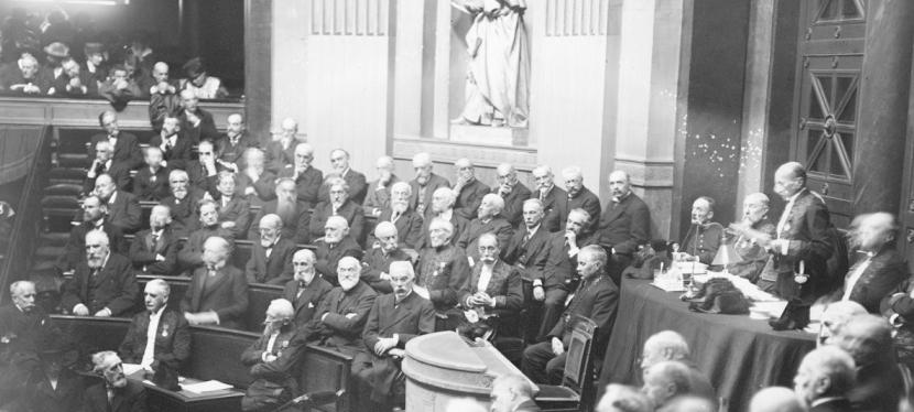 Les académiciens de 1832 à nos jours – SectionVI