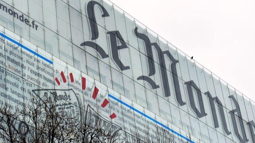 Le journal Le Monde, prescripteurd'opinion