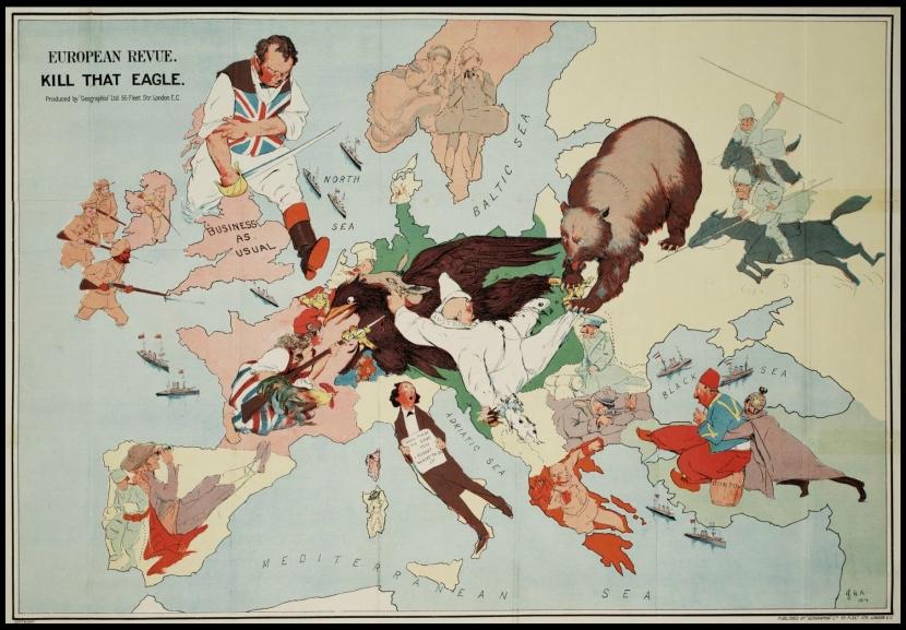 Les frontières de l'Europe d'un point de vuehistorique