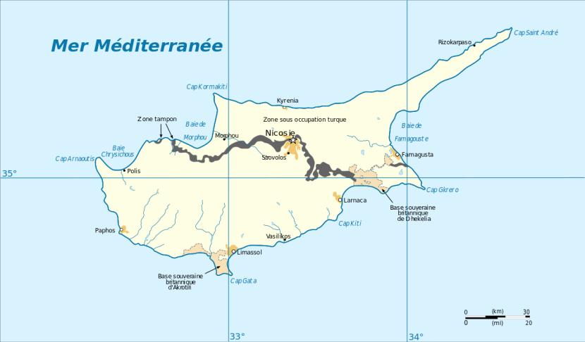 La question de Chypre au regard de certains aspects du droitinternational