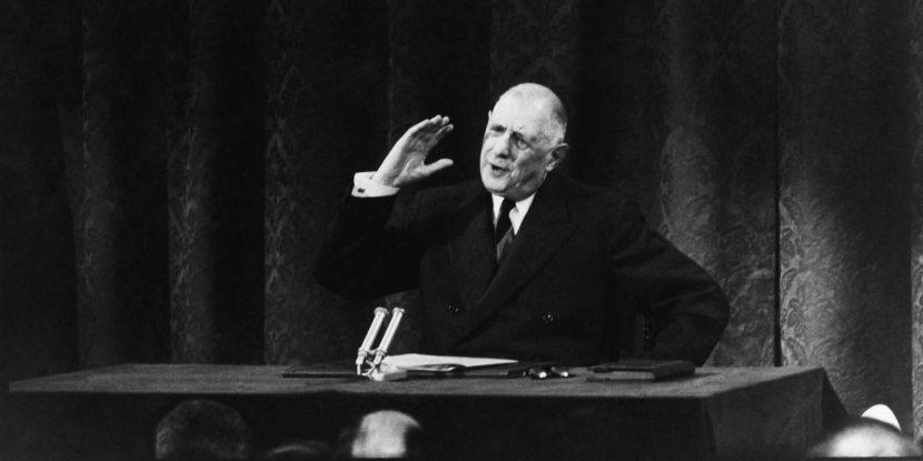 De Gaulle historien