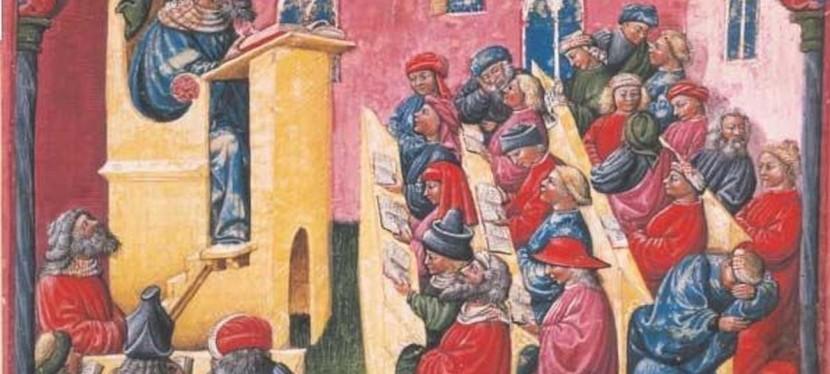 L'université médiévale vue d'aujourd'hui