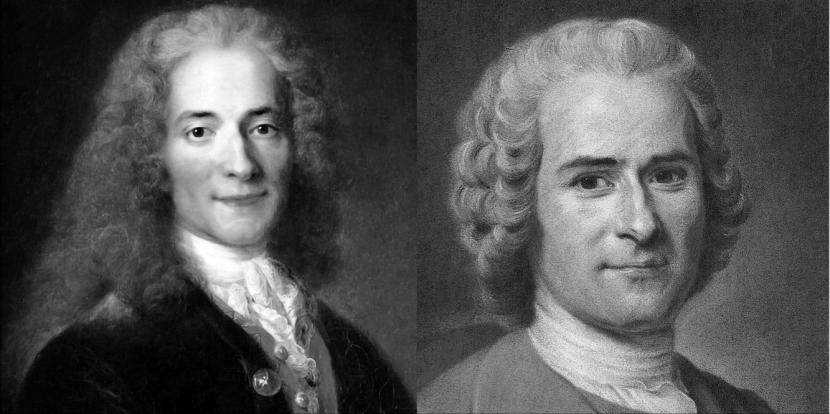 Deux conceptions modernes de l'égalité : Voltaire etRousseau