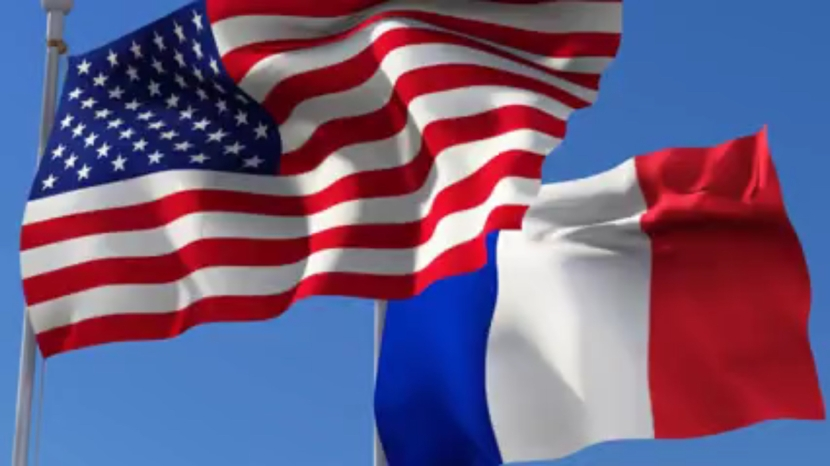 L'état de la France vu desÉtats-Unis