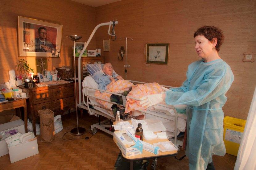 L'hospitalisation à domicile